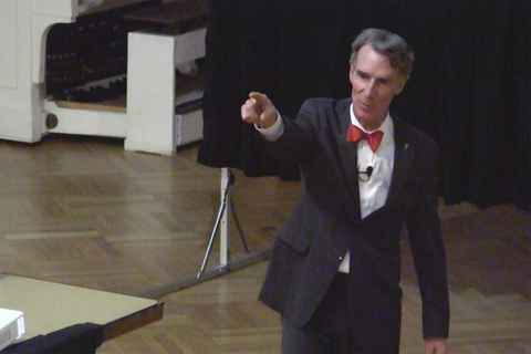 Bill Nye visits Union College