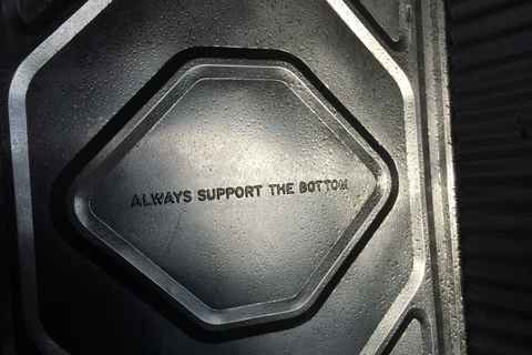 """Always support the bottom"""
