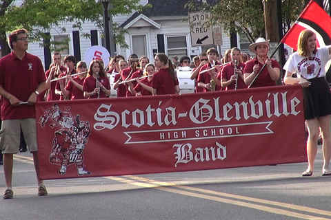 Scotia Memorial Day Parade 2014