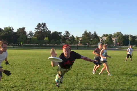 Albany Ultimate competitive league 2014