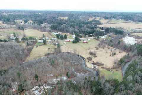 Aerial view outside of Broadalbin