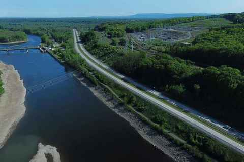 Lock 8 from above Dalys Island
